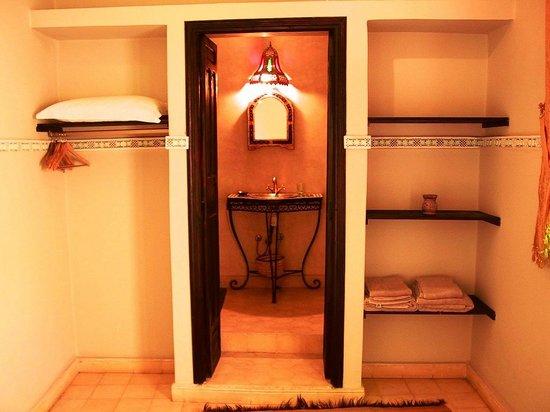 Riad El Farah: la salle de bain