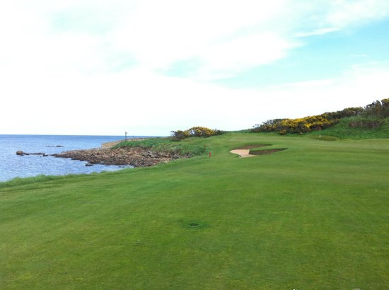 Kingsbarns Golf Links: The exceptional 12th!
