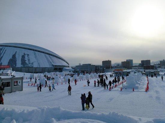Tsudome : 雪まつり