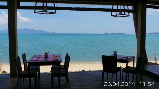 Peace Resort: View at breakfast