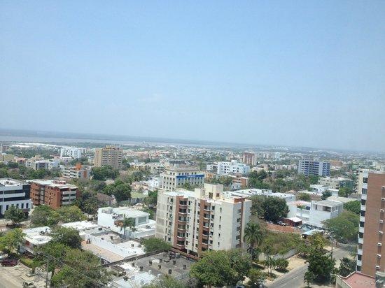 Estelar En Alto Prado Hotel: View from 12th floor