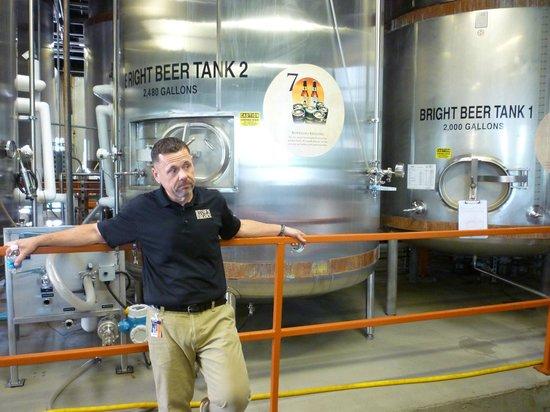 Alltech's Lexington Brewing & Distilling Co.: Brewing room