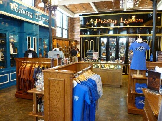 Alltech's Lexington Brewing & Distilling Co.: Visitor center & gift shop