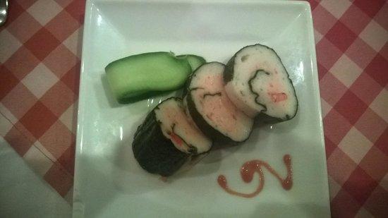 Radisson Blu Resort, Sharm El Sheikh: sushi