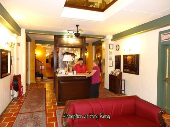 Yeng Keng Hotel: reception