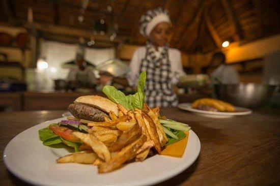 Rivertrees Country Inn: Homegrown vegetables & homemade bread