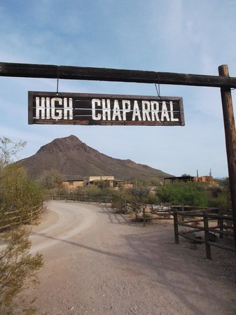 Old Tucson: High Chapparal