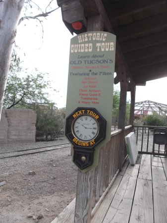 Old Tucson: Historic quided tours