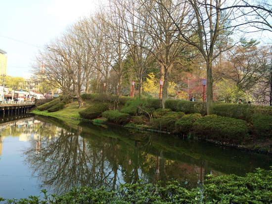 Morioka Castle Ruins : A great place to spend an afternoon