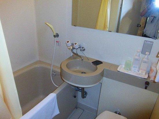 Hotel Taihei Bekkan: 最も安い客室(冷蔵庫未設置で喫煙室のみ)