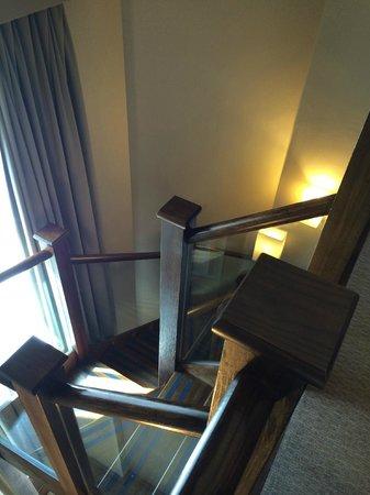 Crowne Plaza London Kensington : Stair to the bedroom