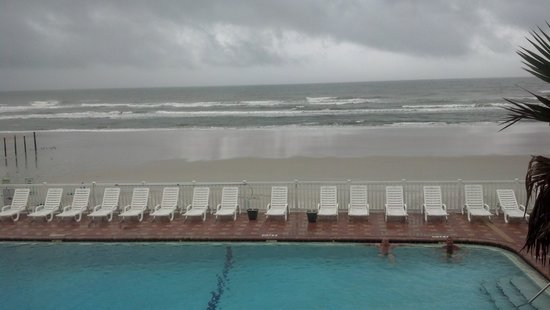 Boardwalk Inn and Suites : our view from our window