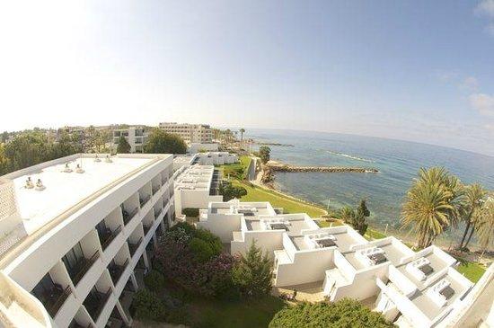 Almyra Hotel: вид сверху