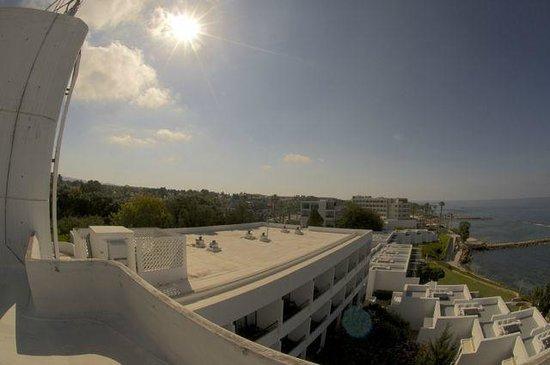 Almyra Hotel : вид сверху