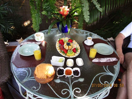 Atlantis House : The breakfast