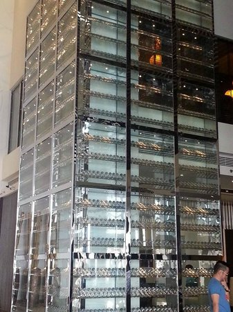 Asiana Hotel Dubai: Voss Water Display