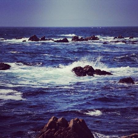"17-Mile Drive: the ""Restless Water"""