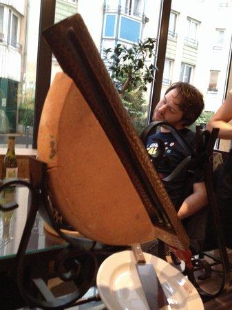 Le Chalet Savoyard : La raclette