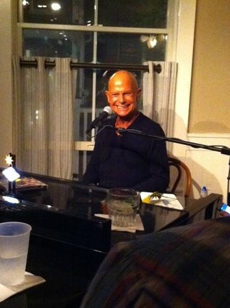 The Crown & Anchor: Bobbie at the Piano