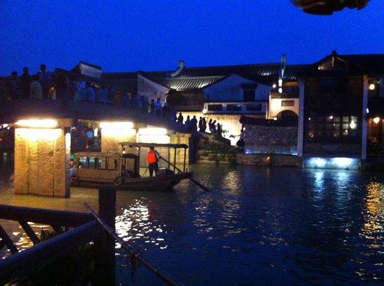 Wuzhen Water Town : Tolle Abenstimmung