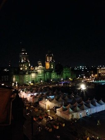 Gran Hotel Ciudad de Mexico: Vista de la Terraza
