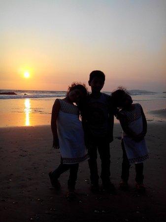 Meenkunnu Beach: Sunset time