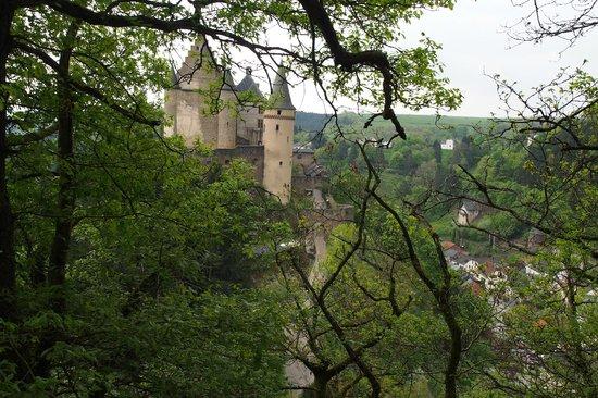 Vianden Chairlift : Chateau de Vianden