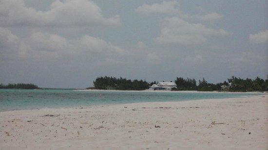 Bahama Beach Club: the big house down the way