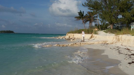 Bahama Beach Club : point of Treasure Cay, about a 15 min walk