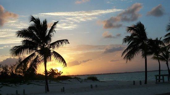 sunset at Bahama Beach Club