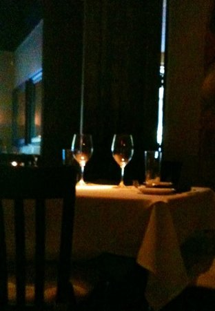 Trattoria One 41: Romantic table for two