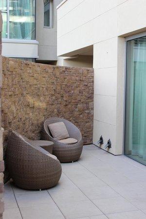 W Scottsdale Spa Suite Patio