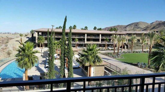 The Ritz Carlton Rancho Mirage Pool Has Great Views
