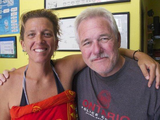 Pluto Dive: Barbara and Bill