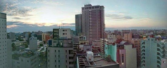 Vessel Inn Sapporo Nakajima Park : View from the room in the morning