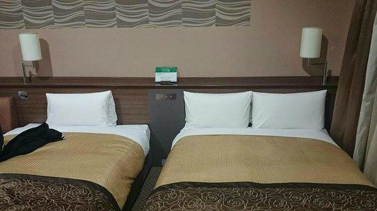 Vessel Inn Sapporo Nakajima Park : Beds