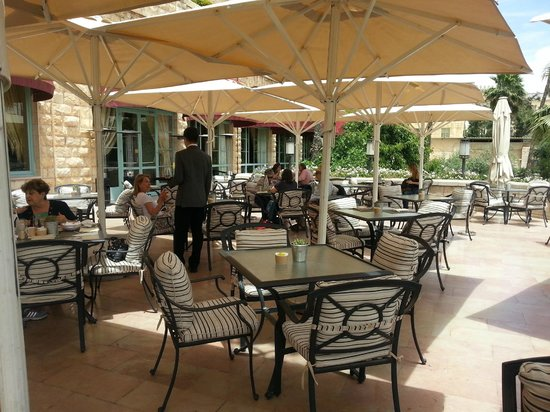 The King David: The Terrace