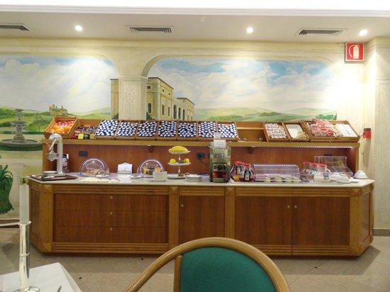Hotel Colonna: la sala colazione