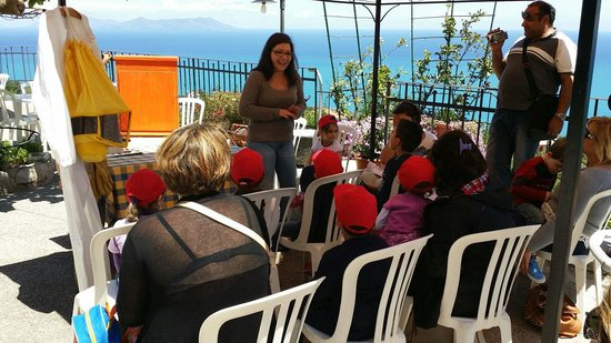 Agriturismo Santa Margherita : Lezione sulle api