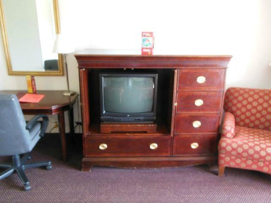 Anaheim Plaza Hotel and Suites: Horribly outdated TV