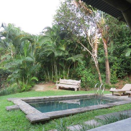 Lakaz Chamarel Exclusive Lodge: vue de la terrasse