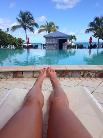 Hotel Riu Palace St Martin: Poolside