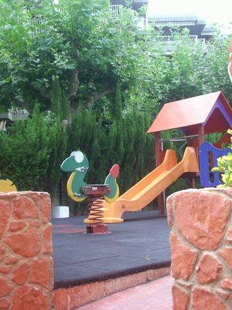 Aparthotel Best Da Vinci Royal: parque