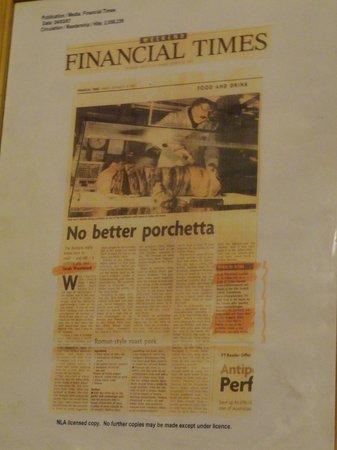 Il Grappolo d'Oro: anche sul Financial Times