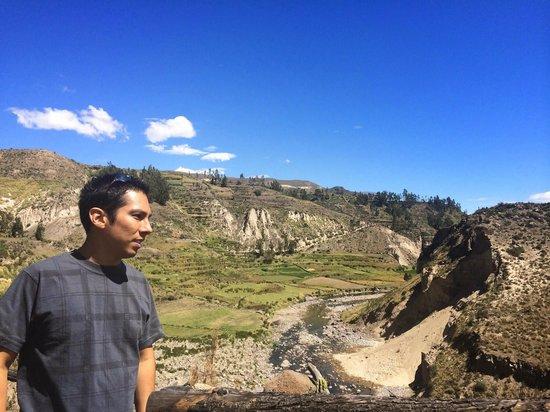 Las Casitas del Colca: Casitas del Colca - View of Valle del Colca