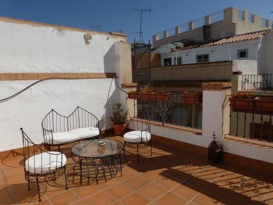 Puerta Catedral Apartments: Patio