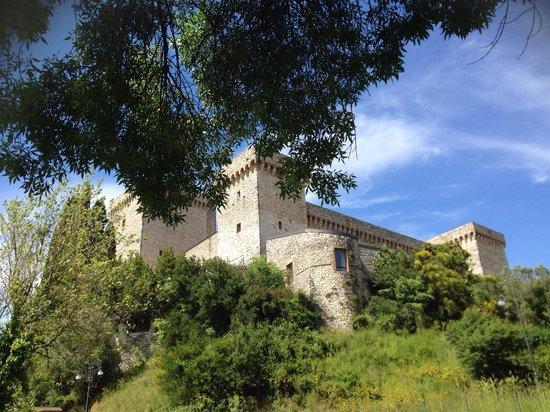 Rocca Albornoz di Narni : La vista della rocca