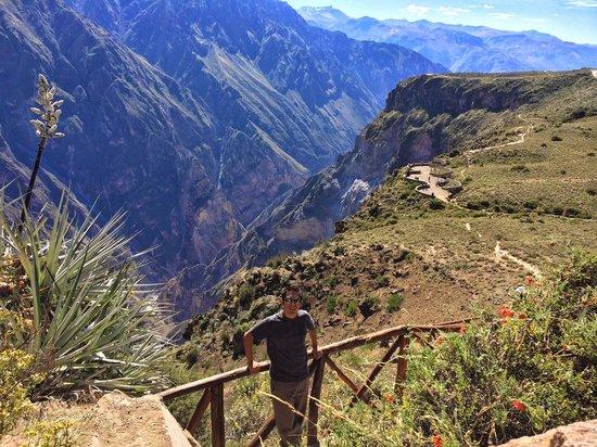 Las Casitas del Colca: Cruz del Condor - Tour coordinated from within the Hotel