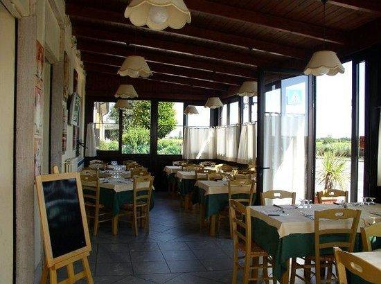 Taverna Le Muse : veranda interna