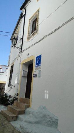 Baraka Boutique Pension : Front door